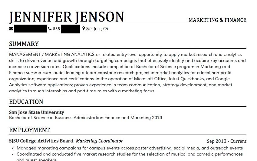 how to write an impressive resume freelancer tips